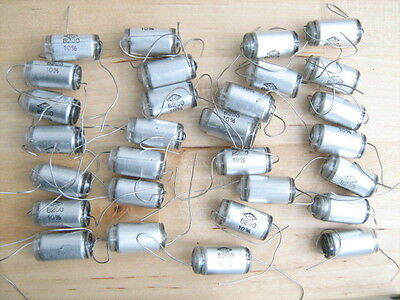 29 pcs 8200pF 8.2nF 500Vdc 10% polystyrene capacitors CRL Centralab NOS Italy