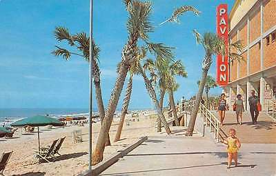 Myrtle Beach South Carolina Along The Boardwalk Vintage Postcard K62802