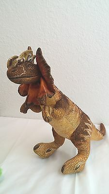 Vtg 1992 Dakin Jurassic Park Dilophosaurus Dinosaur Plush Toy Collectible