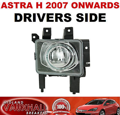 Vauxhall Astra H Front Fog Light Lamp Drivers Off Right Side Sri Sxi Cdti Life