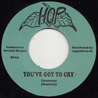 JOHNNY MELODY & THE GROOVERS * You've Got To Cry + FRANK BROWN * Some Come 7""