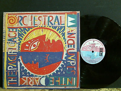 ORCHESTRAL MANOEUVRES IN THE DARK  Pacific Age  LP   Lovely copy!