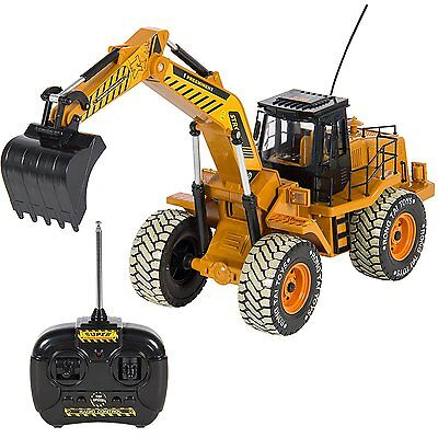 Heavy Duty RC Radio Remote Control Electric Excavator Digger Construction Truck