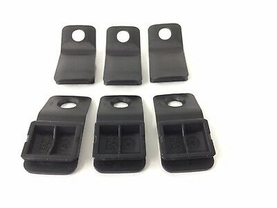 Genuine Smart (452) Roadster Slide Hoop Sliding Roof Clips Q0022489V001 X6 NEW