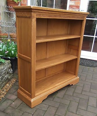 Stunning Old Charm Oak Chateau Collection 3Ft Open Bookcase~Vintage Finish~2514