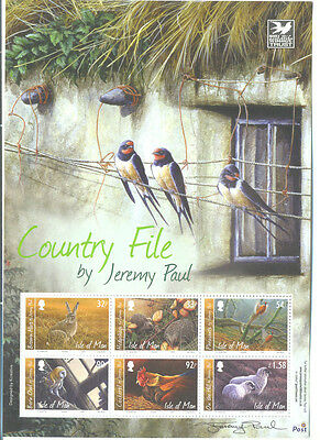 Isle of Man-Countryfile sheetlet mnh - 2010