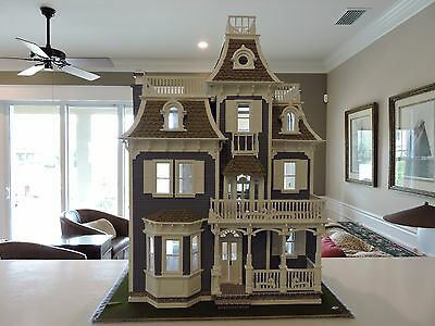 Dollhouse by Greenleaf (The Beacon Hill) Modified Custom & Completed 1/12 Scale