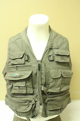 Gander Mountain Fishing Vest Size Large Pre Owned ~Euc~