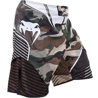 Fightshorts Venum Camo Hero - Green/Brown MMA BJJ Fitness Boxing Training Grappl
