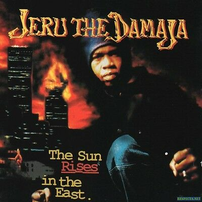 "Jeru the Damaja - The Sun Rises in the East Double LP 12"" 1994 Uk Press"