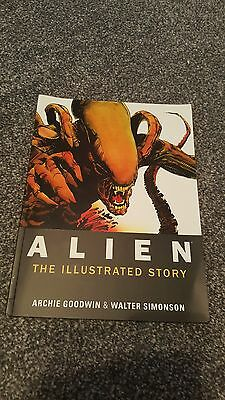 Alien the illustrated story graphic novel very rare titan books