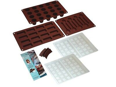 JANE ASHER CAFE GOURMAND CHOCOLATE AND CAKE KIT KITCHEN CRAFT Choco Spoon Mould