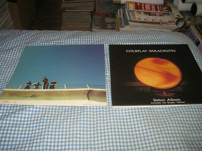COLDPLAY-(parachutes)-1 POSTER FLAT-2 SIDED-12X12-NMINT-RARE