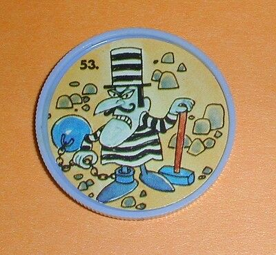 Bullwinkle Coin #53 - Gordon's Potato Chips 1960's Exc Condition