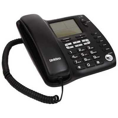 NEW Uniden Corded Phone with Advanced LCD and Caller ID Display