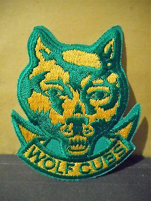 Wolf Cubs Patch,Boy Scouts,Cubs,BSA