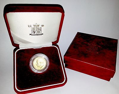 1921 King George V Gold Sovereign + Capsulated within Luxury Case