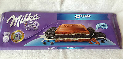 Milka Chocolate Oreo, Large 300g Bar, New Stock. FREE Post! Great Gift.