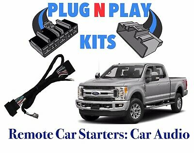 2015 2017 Ford F150  13-17 Fusion  Ver 2 Remote Start 100% Plug And Play