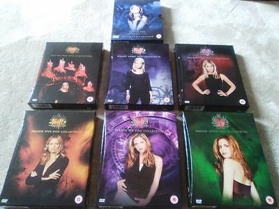 Buffy The Vampire Slayer - Complete Series 1 to 7 - Original Releases