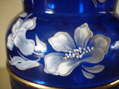 Fenton Landmark Collection Cobalt Vase, 2005 - 100 Yr. Anniversary - NEW !!