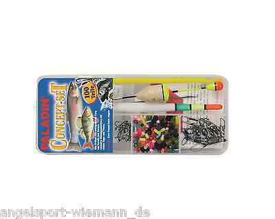 Fishing set Trout Perch Predator fish tackle light Flying 100 Pieces