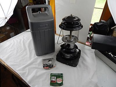 Coleman 290 Black SPECIAL EDITION Powerhouse GAS LANTERN  1988 with Hard Case