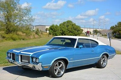 1972 Oldsmobile 442  1972 CUTLASS 442 W-29 - HURST- FACTORY 455 ROCKET- MATCHING NUMBERS - AMAZING
