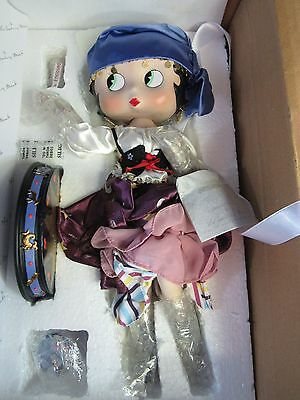 RARE and HARD TO FIND Danbury Mint Betty Boop Porcelain Figure Mystic Betty