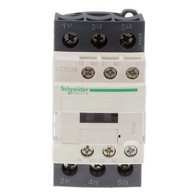 Schneider Electric TeSys Offer (LC1D38U7) 3Pole Contactor ;18.5kW ; 240V AC Coil