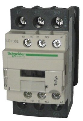 Schneider Electric TeSys Offer (LC1D32U7) 3Pole Contactor ;15kW ; 240V AC Coil