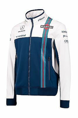 Williams Martini Racing F1 Official Team Soft Shell Jacket (Men's) - 2017