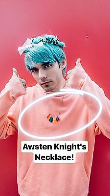 Awsten Knight From Waterparks Necklace - waterparks band - toe token necklace