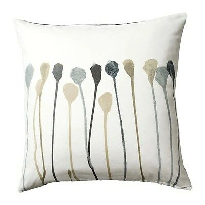Cushion cover SKOGSNAVA Grey/beige  50 x 50 cm