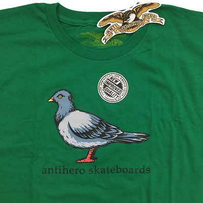 NWT antihero Skateboards Shirt SZ L by Todd Francis • HUF Stance VANS Grosso