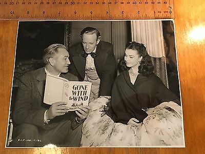 Original Official Press Release Photo Gone With The Wind Vivien Leigh