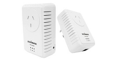 New Edimax 500Mbps Nano PowerLine Adapter Kit with Integrated Power Socket