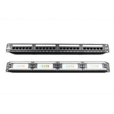 New Linkbasic 24 Port Cat5E Patch Panel Rack Mount