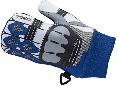 Held Phantomini black blue stylish Baby gloves in Motorcycle glove Style