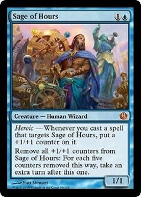 Sage of Hours x1 NM   Magic the Gathering    MTG Journey into Nyx