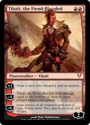 Tibalt, the Fiend-Blooded X1 LP/NM     Magic the Gathering   MTG Avacyn Restored