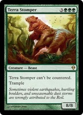 Terra Stomper X4 NM     Magic the Gathering    MTG Zendikar
