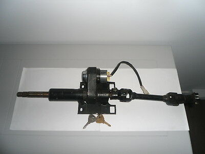 Fiat 124 Spider Steering Column With Steering Link And Ignition Switch 1973-85