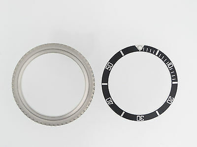 Stainless Steel Rotating Bezel, Retainer, Spring, Insert For Rolex 5513 1680