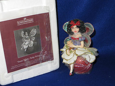 """snow White, Fairy Princess"" Ashton Drake Fairy Tale Fairies - Mib"