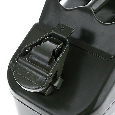 10L Portable Metal Fuel Tank Jerry Can