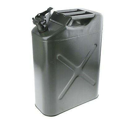 20L Portable Metal Fuel Tank Jerry Can