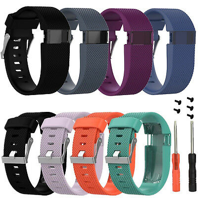 Large Replacement Strap Band Wristband Tools For Fitbit Charge HR Tracker Watch