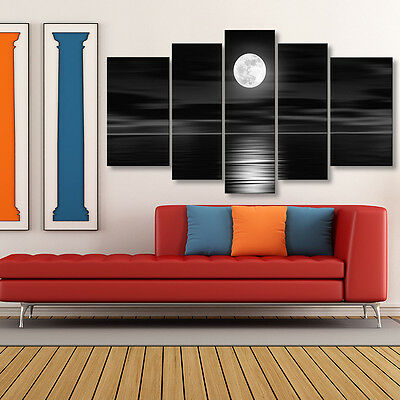 Full Moon Modern Painting Canvas Wall Decor Art Picture Unframed Home Decoration