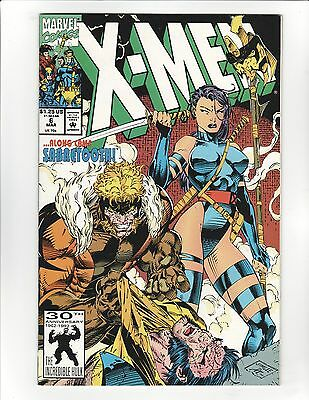 X-Men #6 (1992) - Jim Lee - Along Came Sabretooth! - 9.6 Near Mint +! High Res!